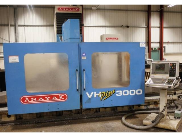 more images Anayak VH Plus 3000 Bed milling machine