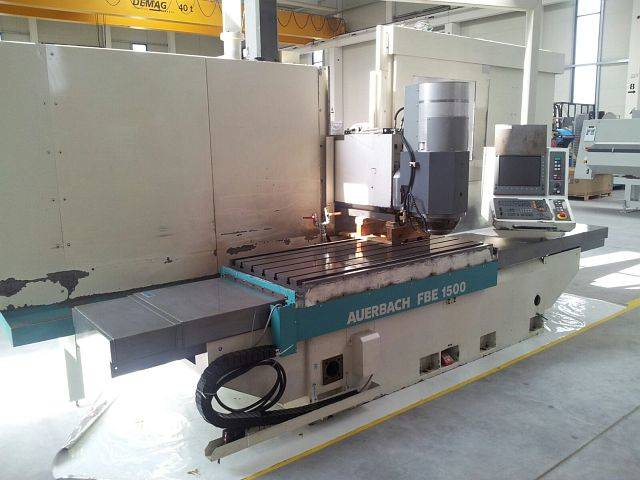 more images Auerbach FBE 1500 x 900 x 900 Bed milling machine