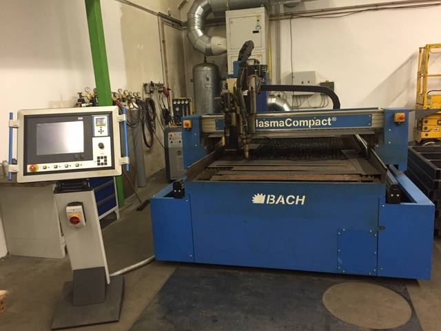 more images Bach PlasmaCompact 1500 x 3000 plasma cutting machines
