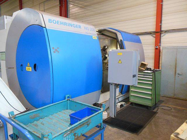 more images Lathe machine Boehringer NG 200
