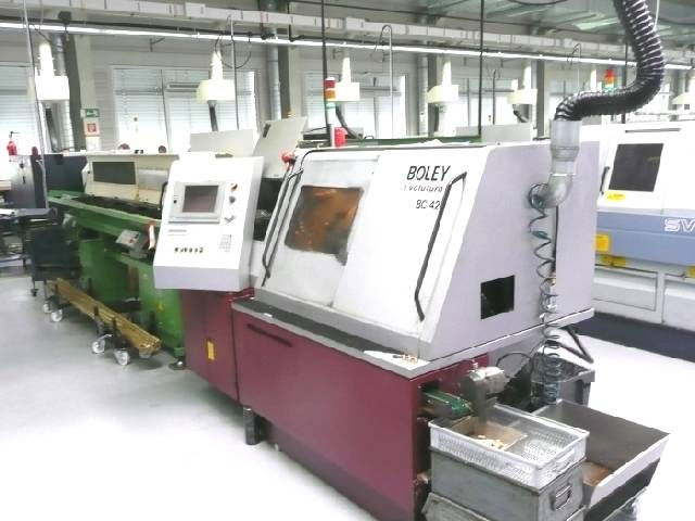 more images Lathe machine Boley BC 42