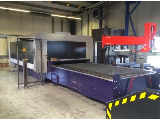 more images Bystronic BySprint Fiber 6000 W Laser Cutting Systems