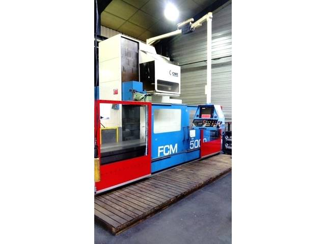 more images CME FCM - 5000 x 950 Bed milling machine