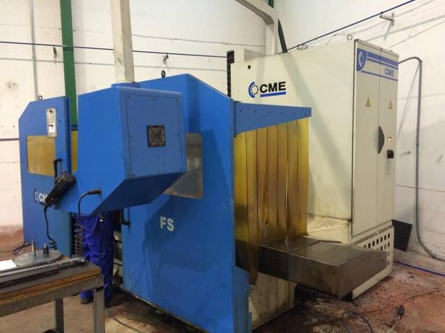 more images CME FS 1 x 1500 Bed milling machine