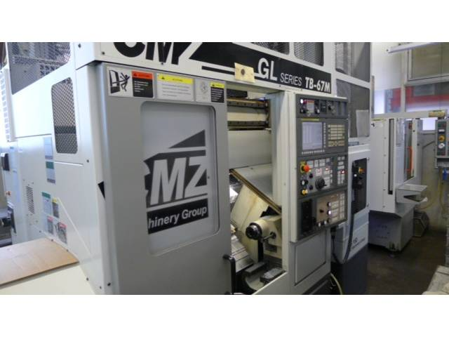 more images Lathe machine CMZ TB 67M GL6
