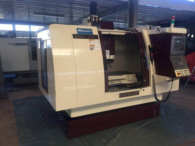 more images Milling machine Chevalier 2040 VMC, Y.  2001