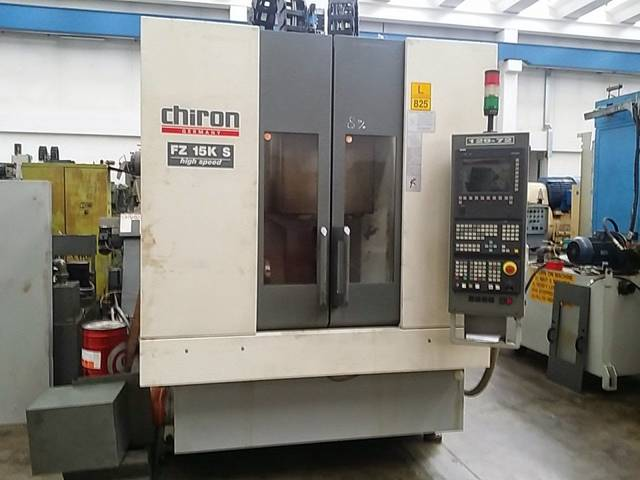 more images Milling machine Chiron FZ 15 KS Highspeed