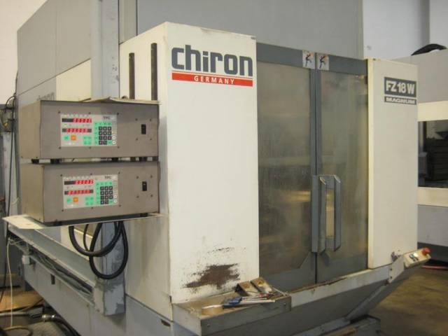 more images Milling machine Chiron FZ 18 W, Y.  1995