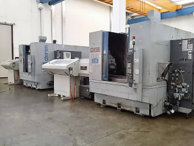more images Milling machine Chiron Mill 800 milling + turning