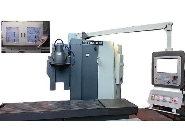 more images Correa A 16 rebuilt Bed milling machine