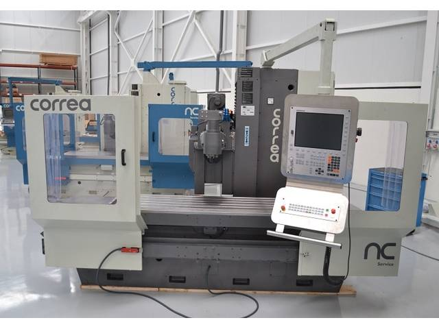 more images Correa A 16 rebuilt Bed milling machine