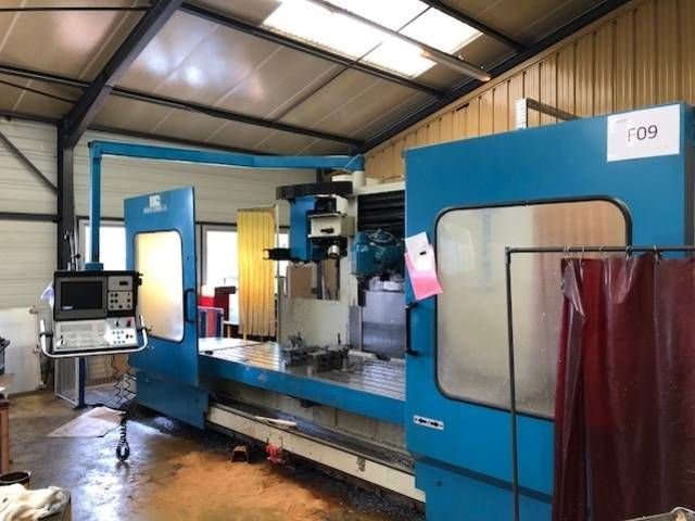 more images Correa A 25 Bed milling machine