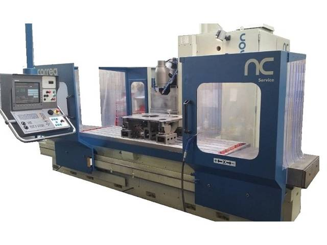 more images Correa CF 22 / 25 Bed milling machine