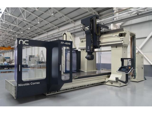 more images Correa FP 40 / 40 S ATC UDG Portal milling machines