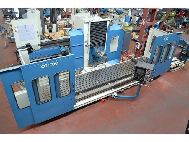 more images Correa L 30/43 rebuilt Bed milling machine