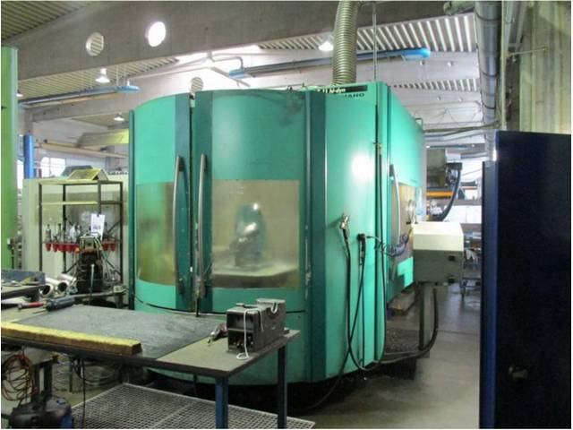 more images Milling machine DMG DMC 125 U