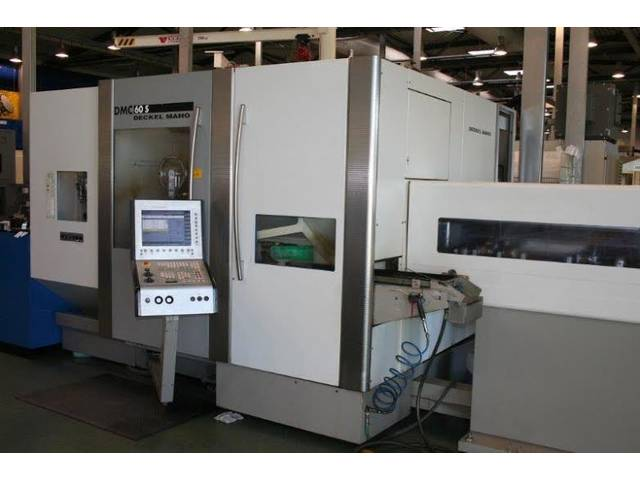 more images Milling machine DMG DMC 60 S , Y.  2003