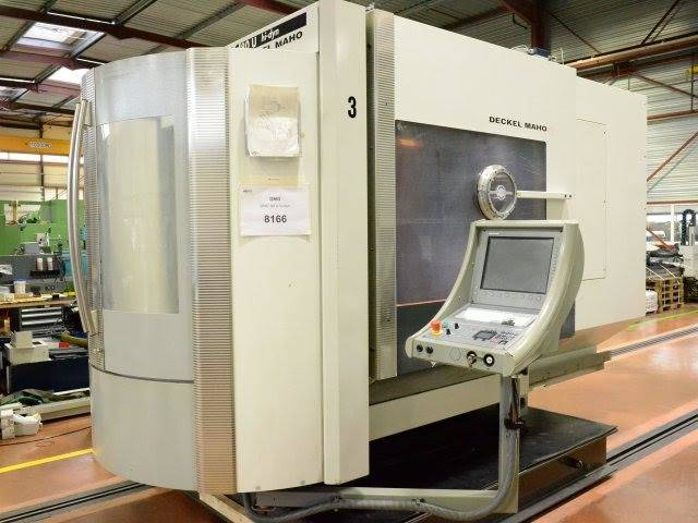 more images DMG DMC 80 U hidyn Machining Center, Milling machines