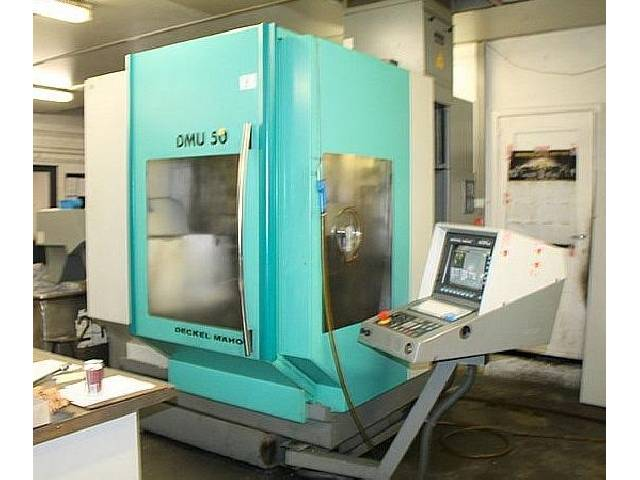 more images Milling machine DMG DMU 50 evo