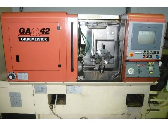more images Lathe machine DMG GAC 42
