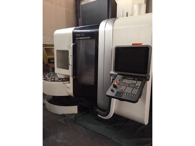 more images Lathe machine DMG CTV 250 V4