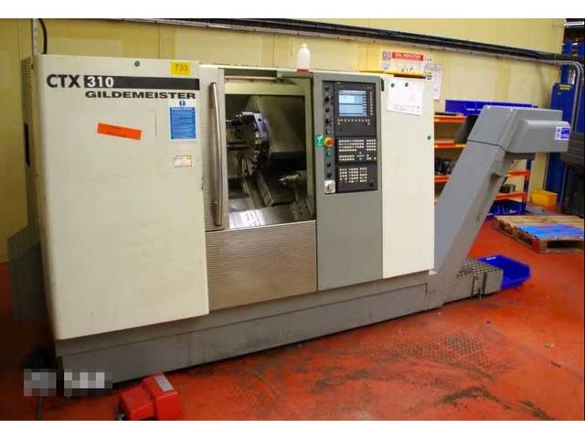 more images Lathe machine DMG CTX 310 V3