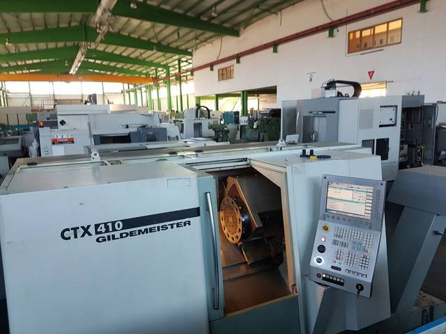 more images Lathe machine DMG CTX 410 V3