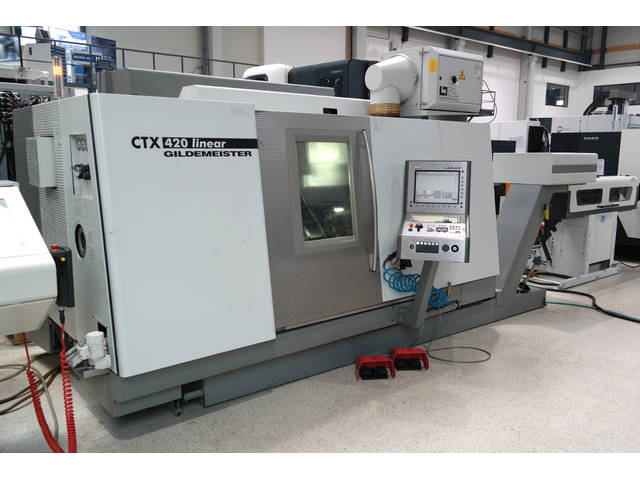 more images Lathe machine DMG CTX 420 Linear V6