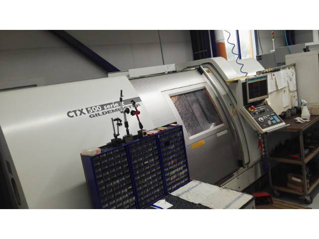 more images Lathe machine DMG CTX 500 Serie 2