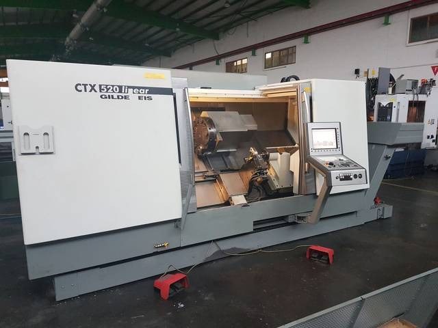 more images Lathe machine DMG CTX 520 linear x 1300