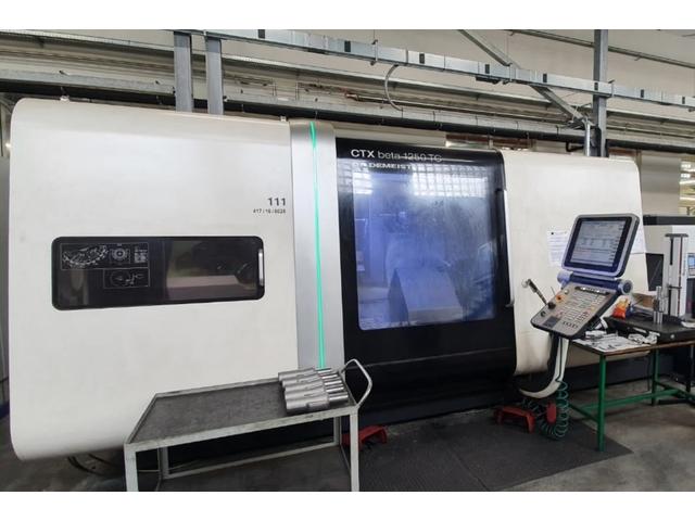 more images Lathe machine DMG CTX beta 1250 TC 4A