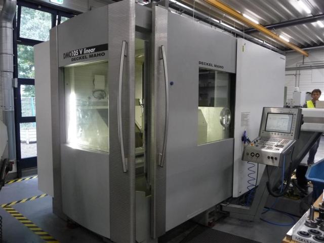 more images Milling machine DMG DMC 105 V Linear, Y.  2007