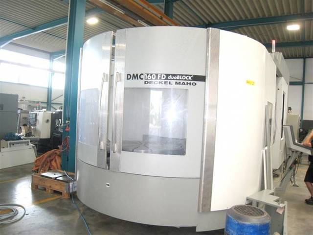 more images Milling machine DMG DMC 160 FD duoBlock