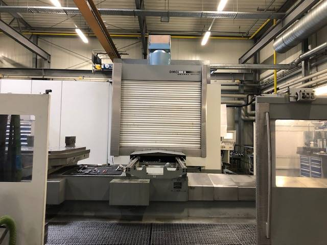 more images Milling machine DMG DMC 200 U  2 apc