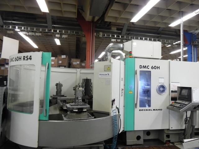 more images Milling machine DMG DMC 60 H - RS4, Y.  1999
