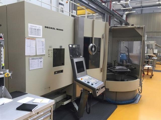 more images Milling machine DMG DMC 60 T RS 5 APC, Y.  2004