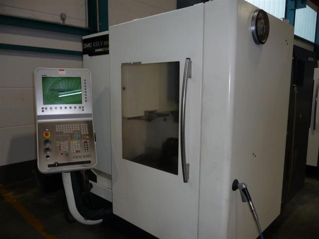 more images Milling machine DMG DMC 635 V eco