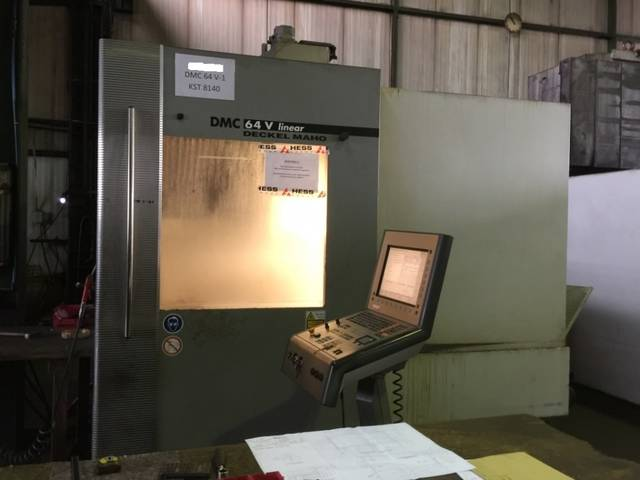 more images Milling machine DMG DMC 64 V Linear