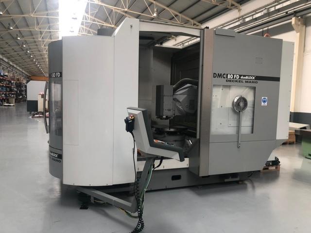 more images Milling machine DMG DMC 80 FD doublock, Y.  2005