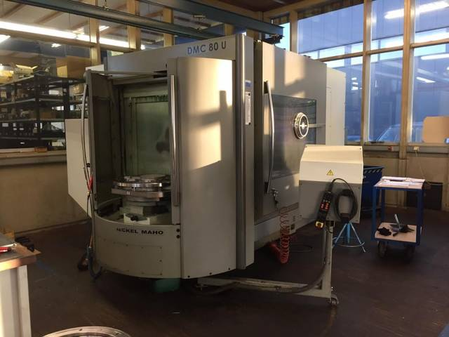 more images Milling machine DMG DMC 80 U
