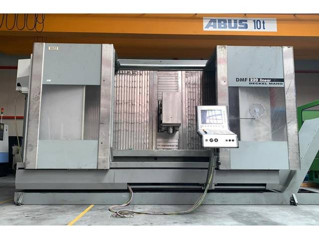 more images Milling machine DMG DMF 220 linear 4ax, Y.  2002