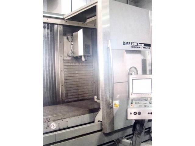 more images Milling machine DMG DMF 250 Linear, Y.  2004