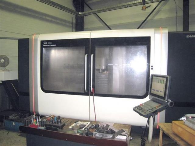 more images Milling machine DMG DMF 260 / 7