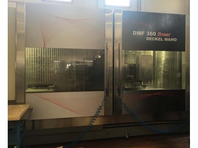 more images Milling machine DMG DMF 360 Linear