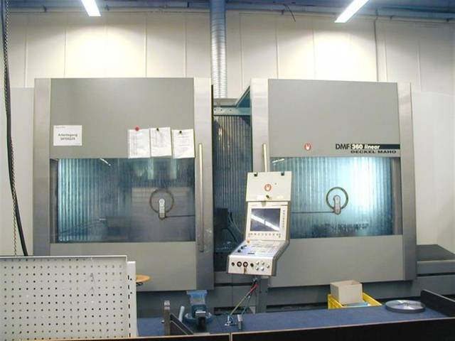 more images Milling machine DMG DMF 360 linear
