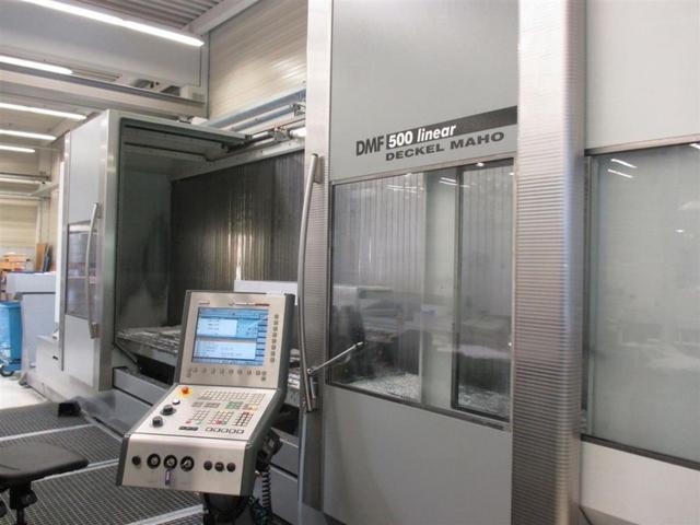more images Milling machine DMG DMF 500 Linear, Y.  2006
