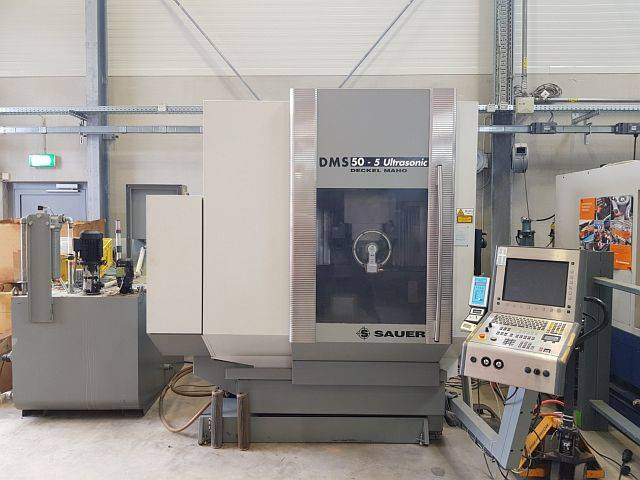 more images Milling machine DMG DMS 50 - 5 Ultrasonic, Y.  2002