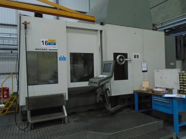 more images Milling machine DMG DMU 200 FD