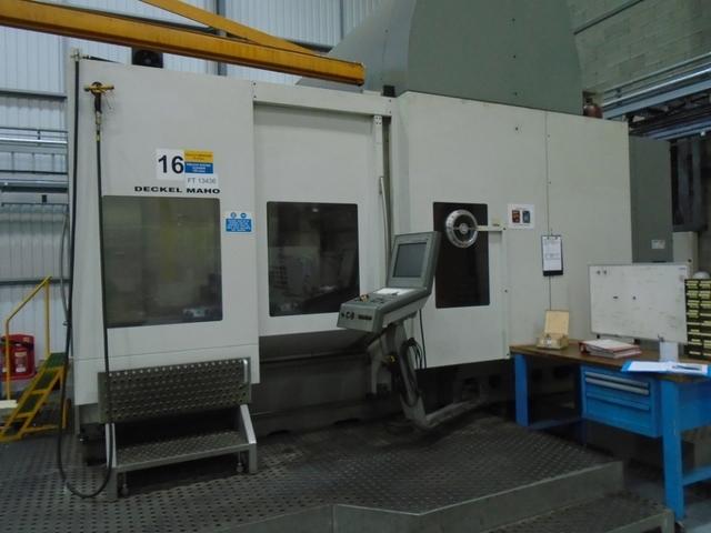 more images Milling machine DMG DMU 200 FD, Y.  2007