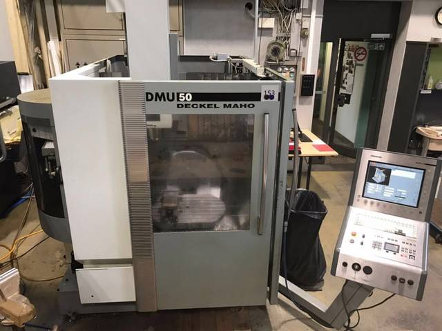 more images Milling machine DMG DMU 50 (3+2)